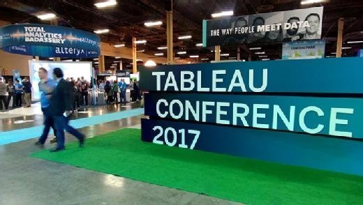 Tableau Conference 2017 exhibit floor