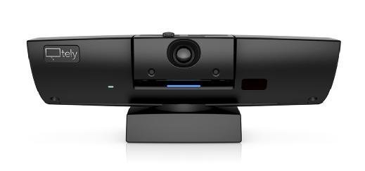 The Tely 200 is a video conferencing endpoint designed for huddle rooms that integrates with cloud video conferencing services.