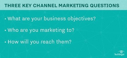 Three critical questions for a channel marketing plan