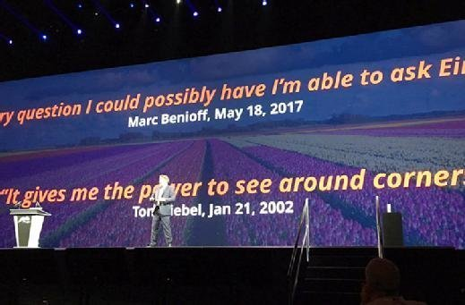 Pegasystems CEO Alan Trefler at PegaWorld 2017