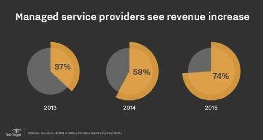 Managed server providers see revenue increase