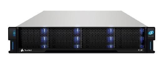 TrueNAS X10 hybrid array