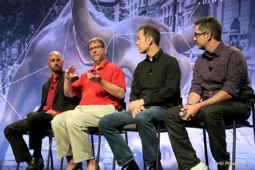 The DevOps tools panel at VMworld 2015