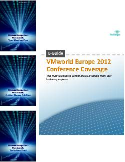 VMworld Europe User Awards Winners: Case Studies
