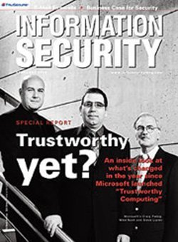 Trustworthy yet? An inside look at what's changed after a year of Microsoft Trustworthy Computing