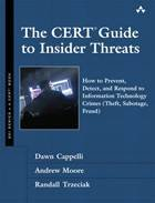 The CERT Guide to Insider Threats