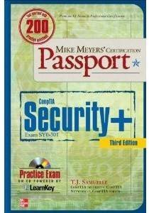 CompTIA Security* Certification Passport book cover