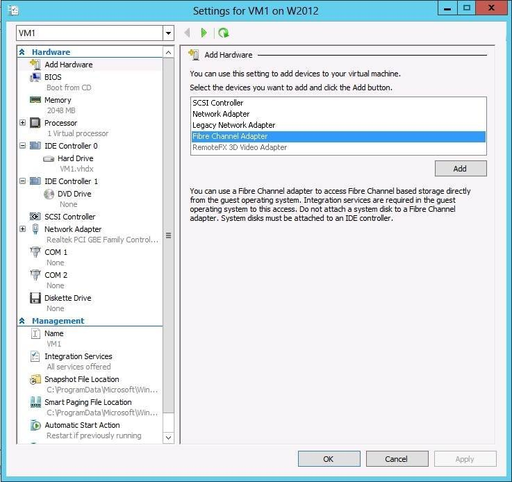 Microsoft Hyper-V storage changes image 1