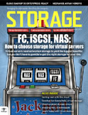 September 2011 Storage magazine cover