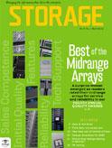 Storage magazine cover March 2009