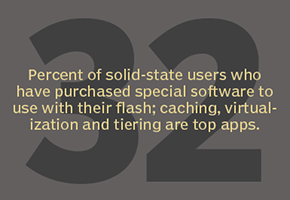 Solid-state users purchasing software for flash