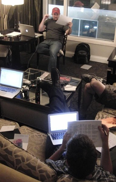 Brian and Gabe VMworld 2011 judging