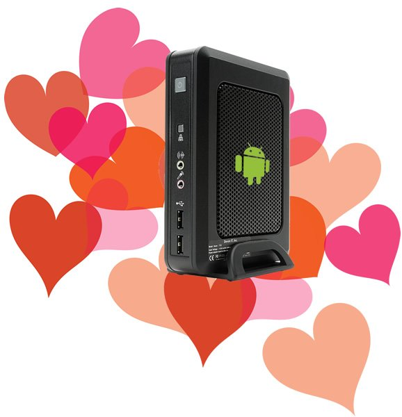 Brian loves an android thin client