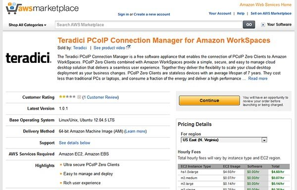 Amazon WorkSpaces: Now with Zero Client access! A