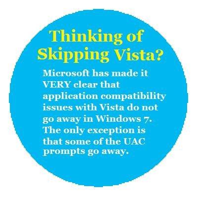 Skip Vista?