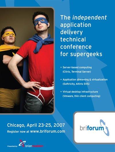 BriForum 2007 Magazine Ad