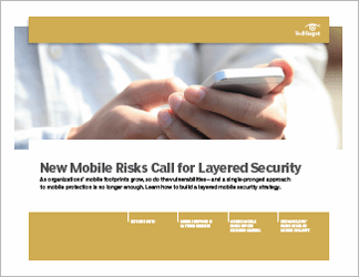 Building a layered enterprise mobile security strategy