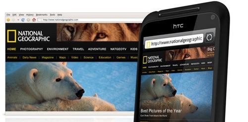 HTC web