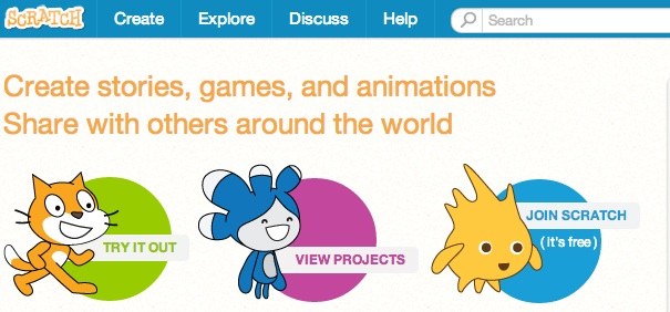 Free open source games website teaches kids programming