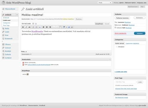 50px-Kuvakaappaus-Lisää_artikkeli-WordPress-3.1-alpha.jpg