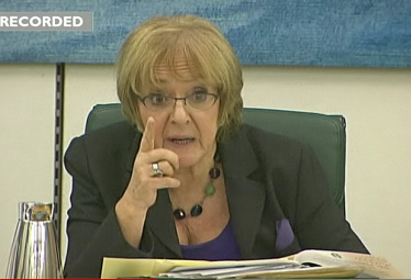Public Accounts Committee chair Margaret Hodge rebukes Starbucks for low tax payments - 12 NOV 2012.png
