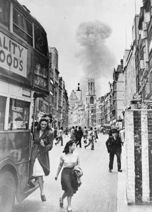30 JUN 1944 - V1 Doodlebug Rocket hits Aldwych - London.png