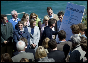 David Cameron - Lewinnick Lodge - Newquay - 2 MAY 2010 - Conservatives promotional picture.jpg