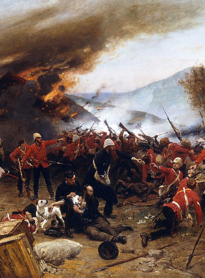 Thumbnail image for Thumbnail image for Alphonse de Neuville - The defence of Rorke's Drift 1879 - CROPPED.png