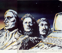 Computer patrons of the new Golden Age - Clive Sinclair - Lorenzo de Medici - Elizabeth 1 - Louis XIV - - Sinclair User magazine - OCT 1982 - CROPPED.png