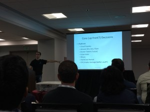 """Daniel Bryant talks about the """"up-front"""" decisions needed when building microservices."""