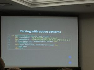 Parsing with active patterns in F#