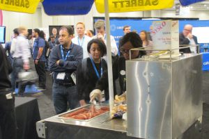 Hot dog stand, Cloud Expo