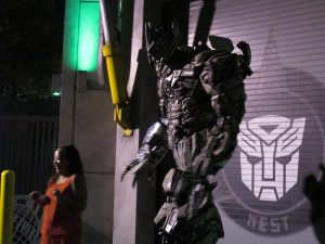 Transforner at Universal Studios