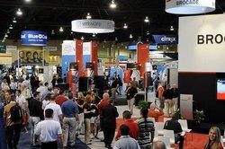 The Expo floor at Interop Las Vegas 2009.