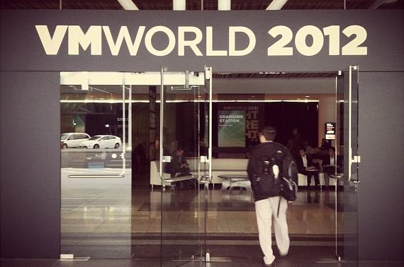VMworld 2012 entrance
