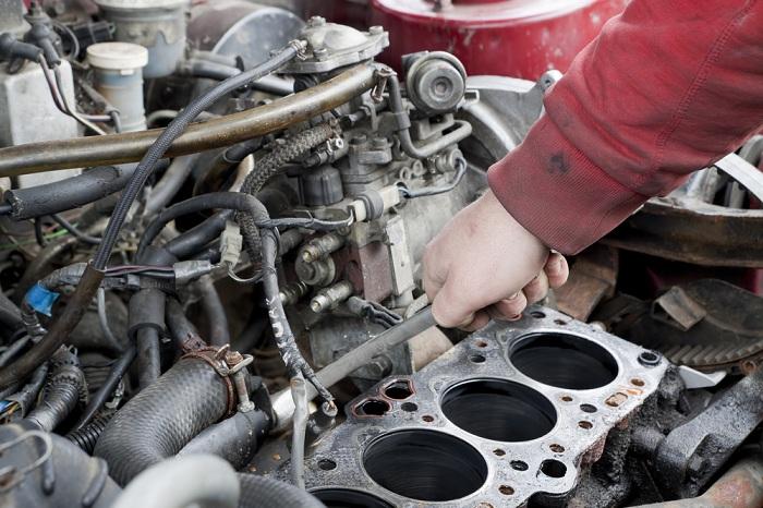 Image of car engine