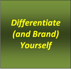 Differentiate Yourself
