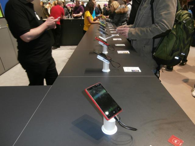 Windows 8 phones at CeBIT