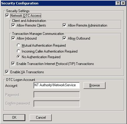 How to configure DTC on Windows 2003 - SQL Server with Mr  Denny