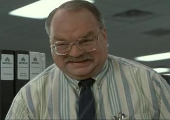 Tom from Office Space