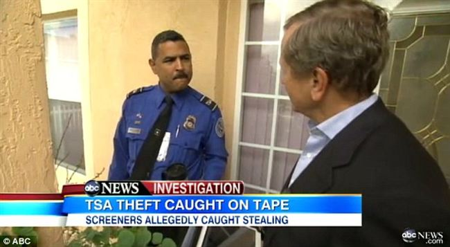 TSA OFficer Caught in ABC News Sting