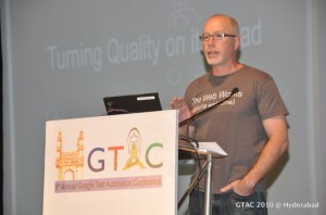 James Whittaker at GTAC