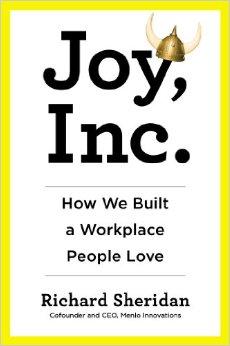 The Cover of Joy Inc, by Richard Sheridan