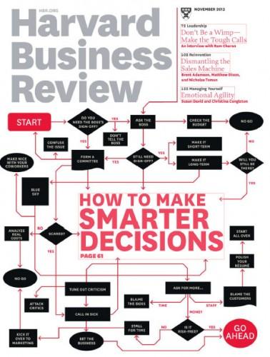 Cover, HBR, November 2013