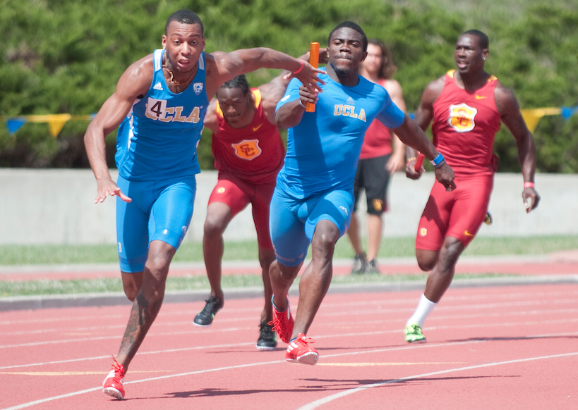 Sprinters In a Relay...</p> 			<span class=