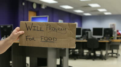 stock-footage-will-program-for-food-sign-in-computer-lab