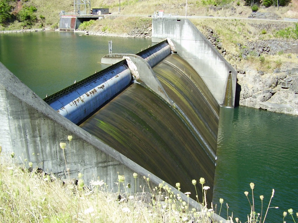 A floodgate for irrigation, which is a good metaphor for software release.