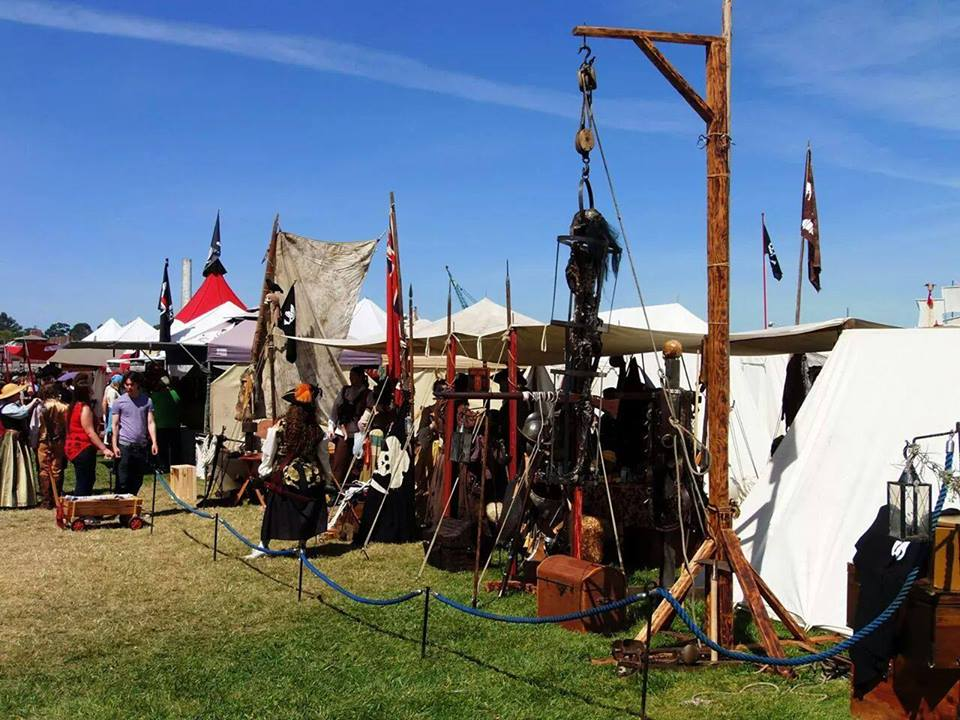 Photograph of a Pirate Encampment