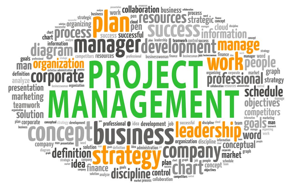 project management tag cloud